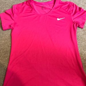 Women's nike dry fit pink size XL